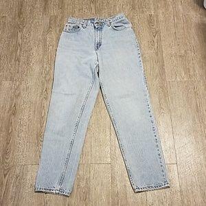 Vintage Levi's 550 High Waist Mom Jeans size 8 28